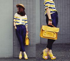 Sailor in yellow (by Shan  Shan) http://lookbook.nu/look/3748161-sailor-in-yellow