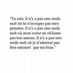 Ces nuits où je rêve de toi qui parfois me terrifient car je t'y vois pleurer, j'ai le cœur déchiré... - #car #ces #coeur #de #déchire #jai #Je #Le #nuits #ou #parfois #pleurer #Qui #rêve #terrifient #toi #ty #vois French Words, French Quotes, Words Quotes, Me Quotes, Bad Mood, Sad Love, Some Words, Relationship Quotes, Sentences