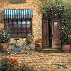 Landscapes - Italy - Market Peddler - McNaughton Fine Art Company