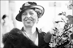 "Eleanor Roosevelt was a FEARLESS humanitarian, social worker and civil rights activist.  My favorite quotes from her are:  ""No one can make you feel inferior without your consent.""  & ""'Anger is one letter away from 'danger.'"""