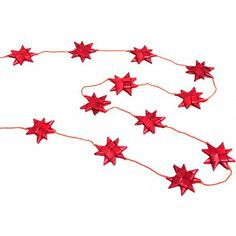 Red Star Garland - Garlands & Streamers - Holiday - Products