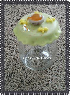 pot à miel en porcelaine froide