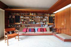 danish modern bookshelf