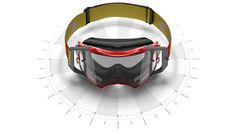 The great parallax animation makes the Oakley Airbrake MX look even more epic
