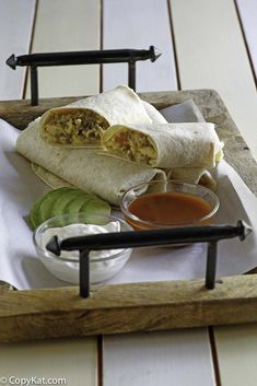 Copycat McDonalds Breakfast Burrito