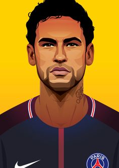 MOTD magazine artwork on Behance Neymar Football, Football Art, Football Hairstyles, Neymar Jr Wallpapers, Cristiano Ronaldo Portugal, Neymar Psg, Cristano Ronaldo, Funny Caricatures, Sports Stars