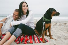 I love portrait sessions that include the pet family members too. Awesomeography copyright The Image is Found.