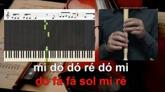 Como ela é bela Agir Educação Musical Notas para flauta