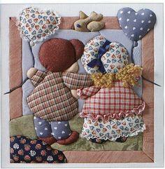 Moldes de patchwork sin aguja gratis - Imagui