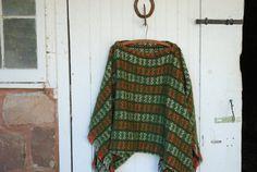 6133b10faba Retro Vintage Blanket Shawl. Botas De ...