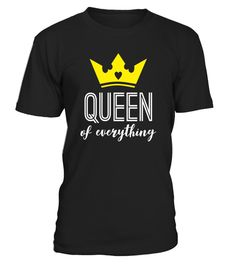 "# Queen of Everything T-Shirt - Girl Power Shirt .  Special Offer, not available in shops      Comes in a variety of styles and colours      Buy yours now before it is too late!      Secured payment via Visa / Mastercard / Amex / PayPal      How to place an order            Choose the model from the drop-down menu      Click on ""Buy it now""      Choose the size and the quantity      Add your delivery address and bank details      And that's it!      Tags: The perfect tshirt for women. It's…"