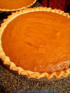 Pumpkin Pie on http://momwhats4dinner.com/pumpkin-pie/