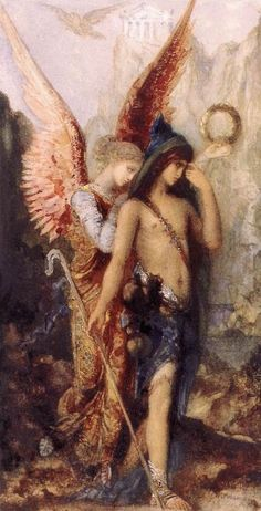 The Voices by Gustave Moreau. 1867
