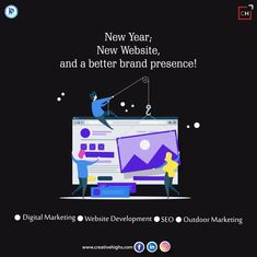 A website is a visual representation of your brand, make sure it is a well-organised one! Digital Marketing Manager, Marketing Tools, Social Media Marketing, Creative Connections, Reputation Management, Brand Building, Advertising Agency, Photography Branding, Website