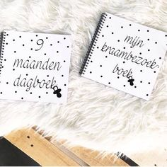 kraambezoekboek & 9 maanden dagboek perfecte cadeautjes