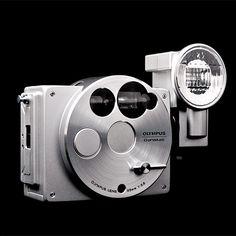 OLYMPUS O-Product limited edition  Aluminum body 1988 by Naoki Sakai #camera