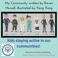 Yeng and I are excited about our new rhyming picture book launch this year! Celebrate diversity and see how children stay active, happy and healthy.