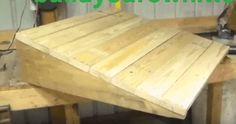 How to Build a Shed Ramp – Simple Step by Step Tutorial - The Saw Guy Shed Construction, Firewood Shed, Build Your Own Shed, Building A Shed, Building Plans, Building Ideas, Building Design, Backyard Sheds, Ventilation System