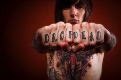 Oli Sykes tattoos
