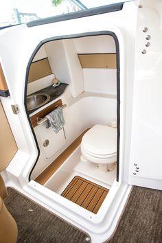 2014 Sea Ray® 270 SLX - Enclosed Head Compartment w/Pump Out #searay http://www.searayofsaskatchewan.com/product/270-slx