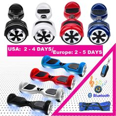 Electric Skateboard Hoverboard Self-Balancing Scooter //Price: $140 & FREE Shipping //     Sale Depot saledepot.biz/... #discount