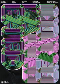 Typography Poster, Graphic Design Typography, Graphic Design Illustration, Generative Art, Type Setting, Design Museum, Graphic Design Inspiration, Art Tutorials, Layout Design