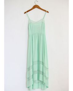 mint green lace cut out dress- cant wait for summer!