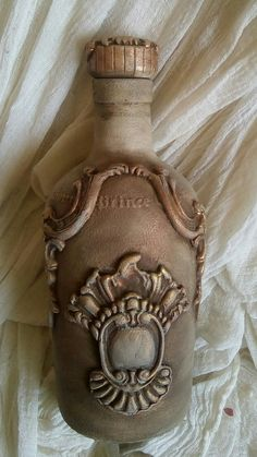 Bottle with Iron Orchid Design... by vrisieleni... Klair.V!!!