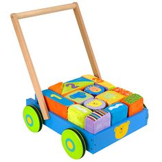 Babies R Us Wood 'N Plush Block Cart
