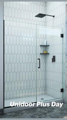 Modern Bathroom Tile, Modern Shower, Bathroom Interior, Small Bathroom, Bathroom Showers, Basement Bathroom, Bathroom Ideas, Master Bath Shower, Master Bathroom