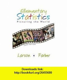 Elementary Statistics Picturing the World-Student Study Pack (9780131343665) Ron Larson, Elizabeth Farber , ISBN-10: 0131343661  , ISBN-13: 978-0131343665 ,  , tutorials , pdf , ebook , torrent , downloads , rapidshare , filesonic , hotfile , megaupload , fileserve