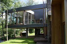 Flying House Portugal, Extensions, Concrete, Foundation, Exterior, Studio, Architecture, Outdoor Decor, House