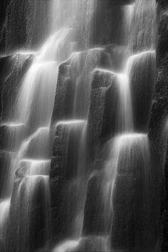 Waterfall Close Up Proxy Falls OR  Flow by StevenDavisPhoto, $25.00