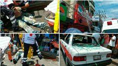 Se electrocuta y cae sobre un taxi en Poza Rica - http://www.esnoticiaveracruz.com/se-electrocuta-y-cae-sobre-un-taxi-en-poza-rica/