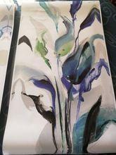 Tienda Online Floral abstracto azul colorido art canvas print pintura en la pared decorativa casera pictures for living room YH29-1737 | Aliexpress móvil #pinturadecorativa