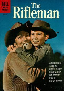 One of the many westerns I loved as a kid. I had a huge crush on the Rifleman's son, played by Johnny Crawford.