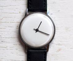 Reloj soviético reloj ruso reloj reloj blanco por SovietWatches