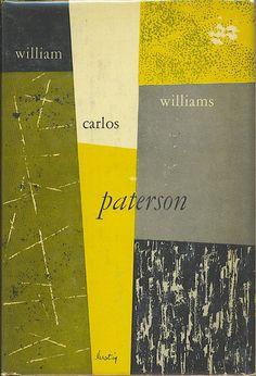 Cover by Alvin Lustig - William Carlos Williams - paterson