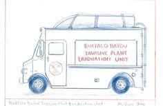 Invasive Plant Eradication Unit aka EduArtTruck #art