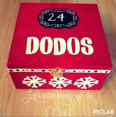Un calendrier de l'avent un peu special... une boîte magique qui communique avec le Pole Nord !