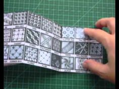 Zentangle  TM - The Great Mosaic of Tangle Patterns Pocket Booklet.wmv