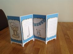 Screen card-christening