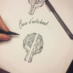 artichoke tattoo - Google Search
