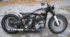 vintage harley davidson | Vintage Odds and Ends: Harley Davidson | Bobber Panhead 1949 #HarleyDavidson #Vintage