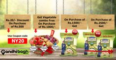 Get huge discount + Dawat Basmati Rice Absolutely free. Don't miss the deal..!!! Hurry up…!!!  Grab the deal now ...!!!