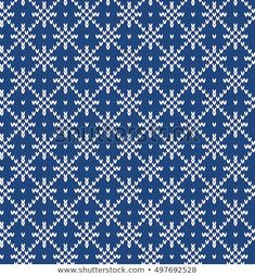 67 Trendy Ideas For Knitting Charts Snowflake Fair Isle Knitting Patterns, Knitting Charts, Knitting Stitches, Christmas Charts, Christmas Knitting, Paper Smooches, Free Baby Blanket Patterns, Knitting Quotes, Crochet Instructions
