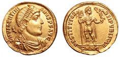 Western Roman Empire AV Solidus ND Nicomedia Mint struck 364AD Valentinian I