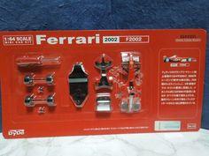Kyosho 1:64 scale MINI CAR KIT Ferrari 2002 F2002 Dydo from Japan