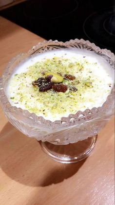 Egyptian Rice Pudding Recipe by Sally Ammar - Rice Recipes Rice Pudding Recipes, Rice Puddings, Vegan Pudding, Egyptian Desserts, Egyptian Food, Egyptian Recipes, Rice Recipes For Dinner, Dessert Recipes, Pudding