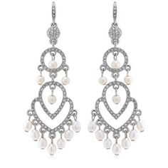 Carolee Jodi Sable Pearl Earrings 1502ep5009 Http Designerjewelrygalleria